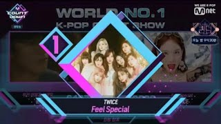 "191010 TWICE ""FEEL SPECIAL"" 7TH WIN  @ M COUNTDOWN"