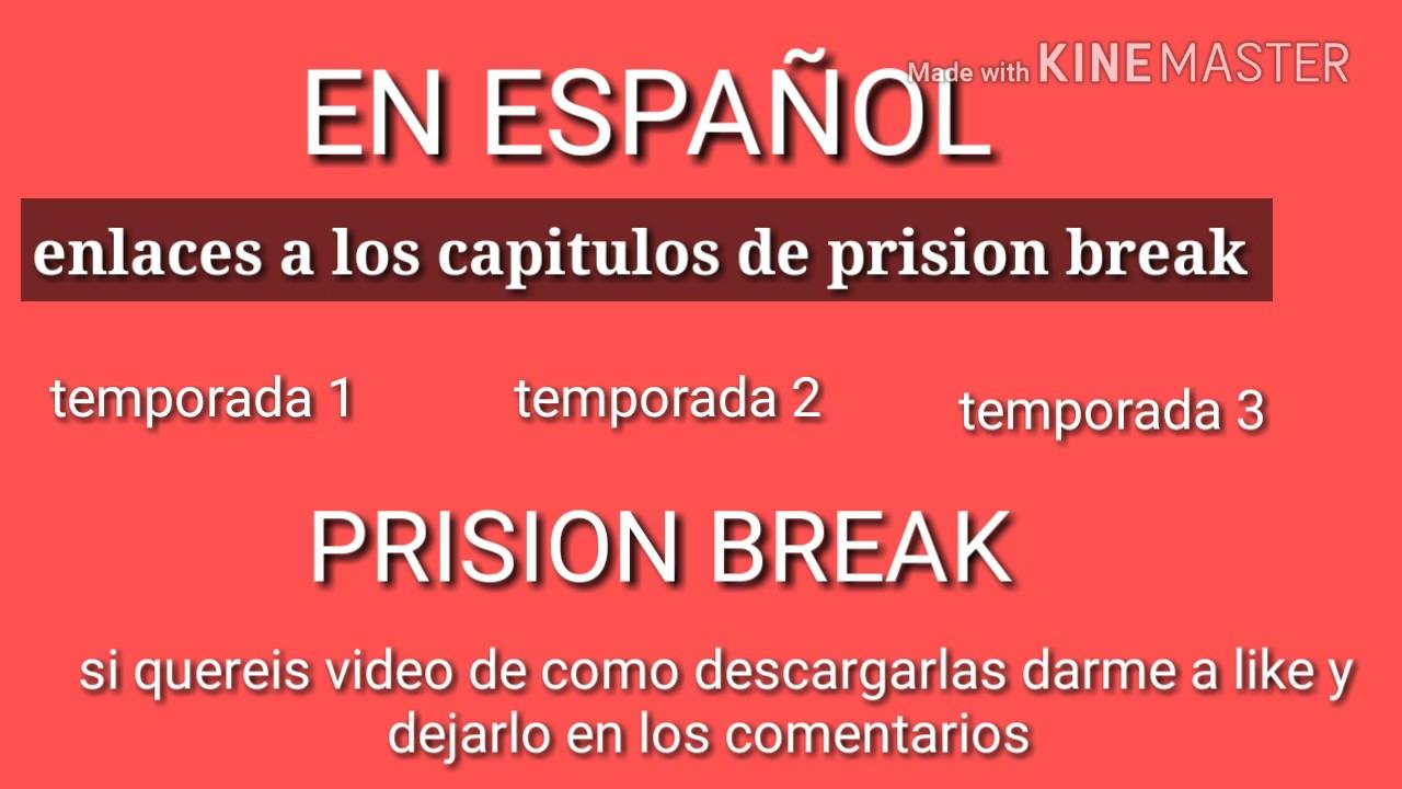 Tinagoncharuk1: descargar prison break temporada 1 espanol latino.