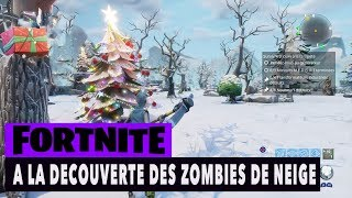FORTNITE - SAUVER THE WORLD - ON DECOUVRE THE ZOMBIES OF NEIGE!