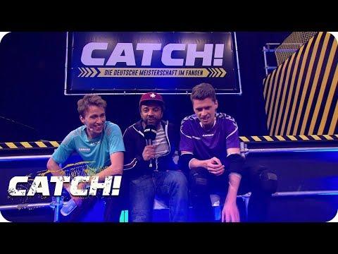 Premiere: Ein Promi traut sich aufs Baugerüst! - CATCH! Die Deutsche Meisterschaft im Fangen