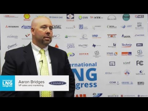 Aaron Bridges (Chart Industries) - Interview. Plans for the future, switching to LNG, modularization