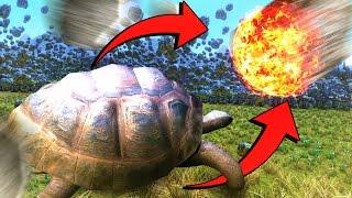 FULLY AUTO CATAPULT vs MEGA TURTLE! ❱ Ultimate Epic Battle Simulator UEBS #2