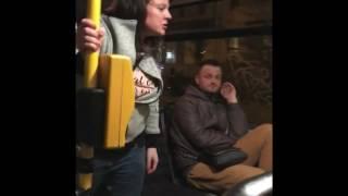 Brno - Bitka v autobuse