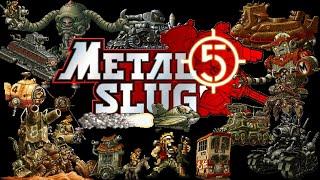 Metal Slug 5 Full GamePlay