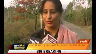 a common girl has planted more than 300 plants of gulmohar in haldwani