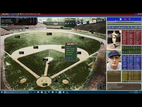 SOM Replay:  1927 World Series Game 4.  PIT @ NYY