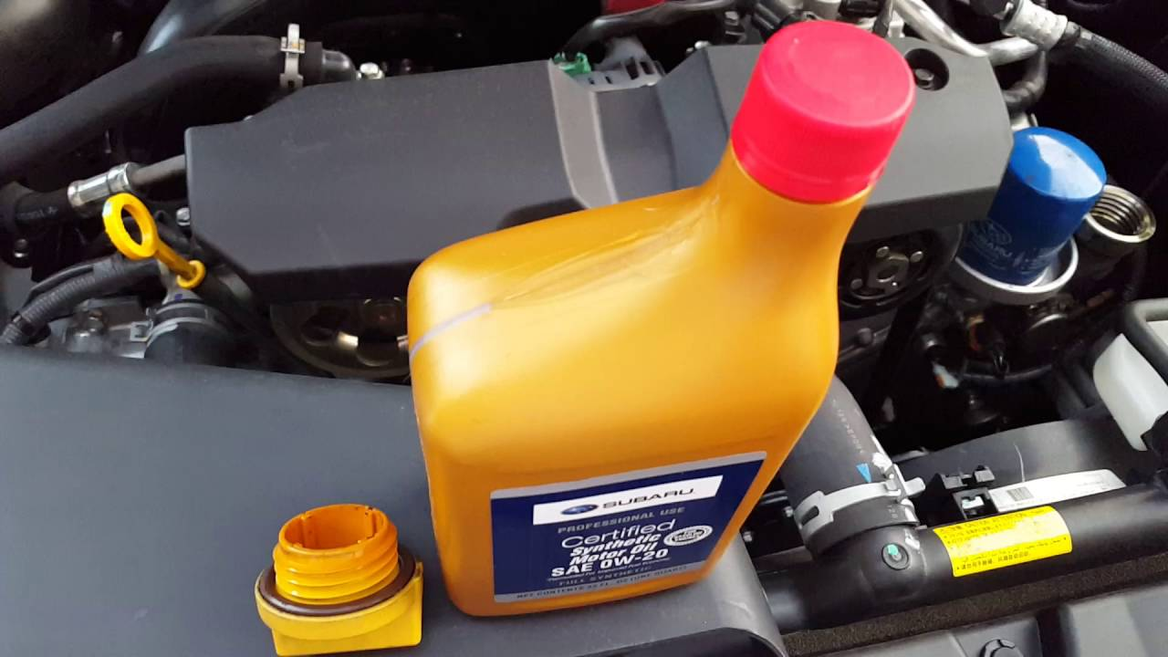 2016 subaru outback oil consumption