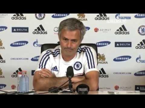 Jose Mourinho's press conference pre Manchester United [ One MOUR time ] - set to sign Willian