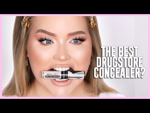 THE BEST DRUGSTORE CONCEALER?? | NikkieTutorials