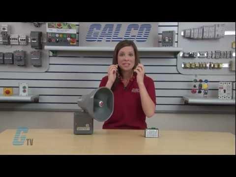 Federal Signal SelecTone Model 300 Audible Signaling Device Siren Demo