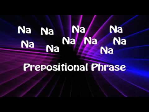 Prepositional Phrases and Prepositions Song - Educational Music Videos