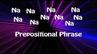 Prepositional Phrases and Prepositions Song - Educational Rock Music Videos - Grammar Rock
