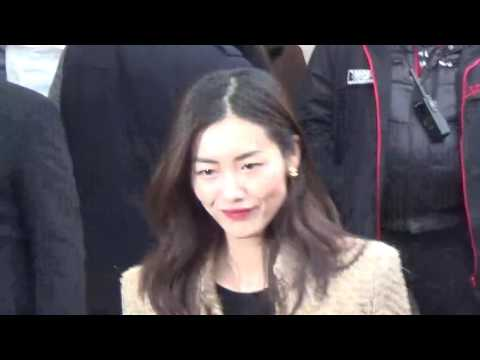 Liu WEN 刘雯 @ Paris Fashion Week 24 january 2017 show Chanel / Janvier #PFW