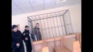 Константин Лавров под конвоем