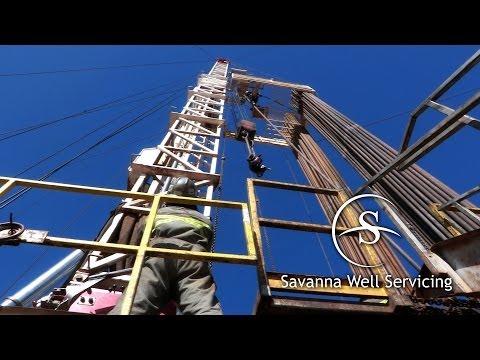 A Rig Career With Savanna Well Servicing North Dakota