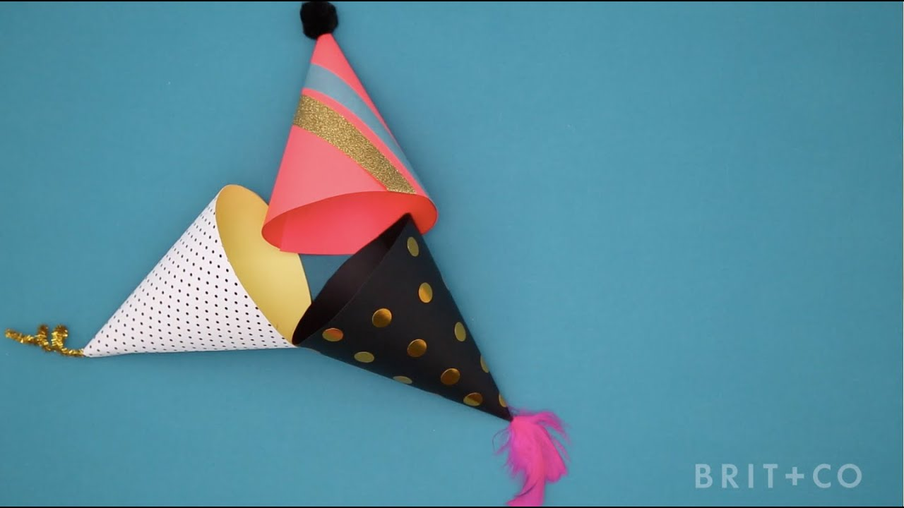 How To DIY Party Hats