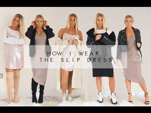 HOW I WEAR THE SLIP DRESS | PETITE SIDE OF STYLE
