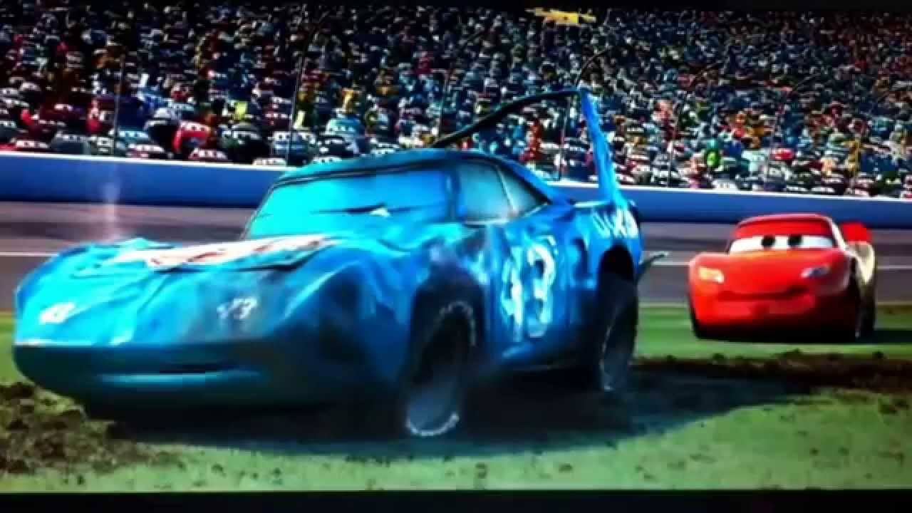 The Last Scene In The Movie Cars Youtube