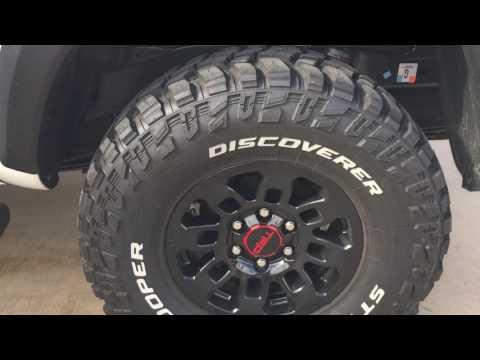 TOYOTA TRD PRO 2017 UPDATE COOPER STT PRO tires