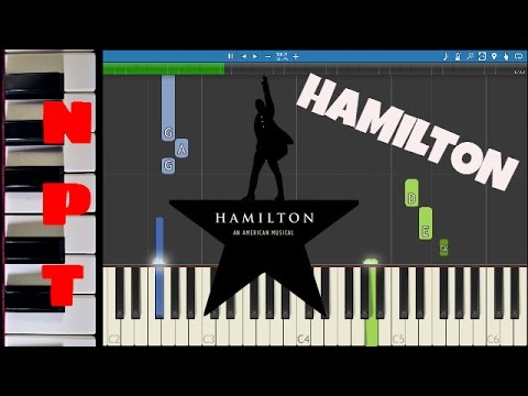 Alexander Hamilton - Piano Tutorial