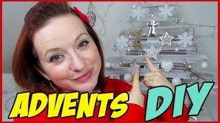 Advents DiY - Paletten Bäumchen / Adventskalender - upcycling