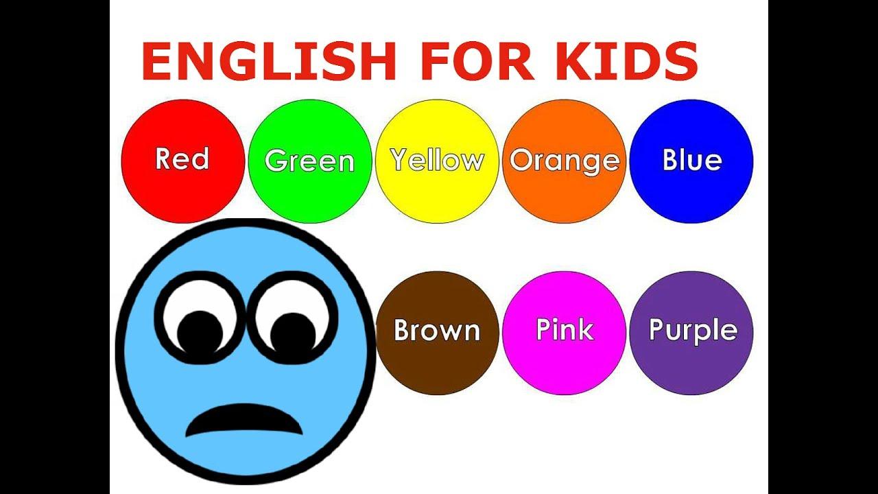 Bé học tiếng Anh với màu sắc, hình dạng, con số và chữ cái (English for Kids)