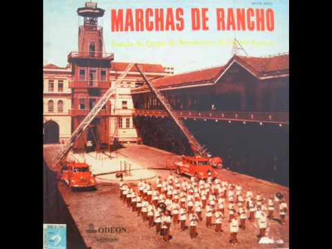 Banda do Corpo de Bombeiros do Distrito Federal (RJ) - Marchas de Rancho (LP - 1956)