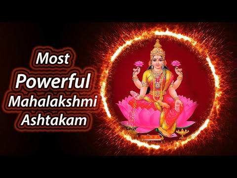 Most Powerful Mahalakshmi Ashtakam
