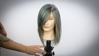 Mint Green Hair Color Tutorial