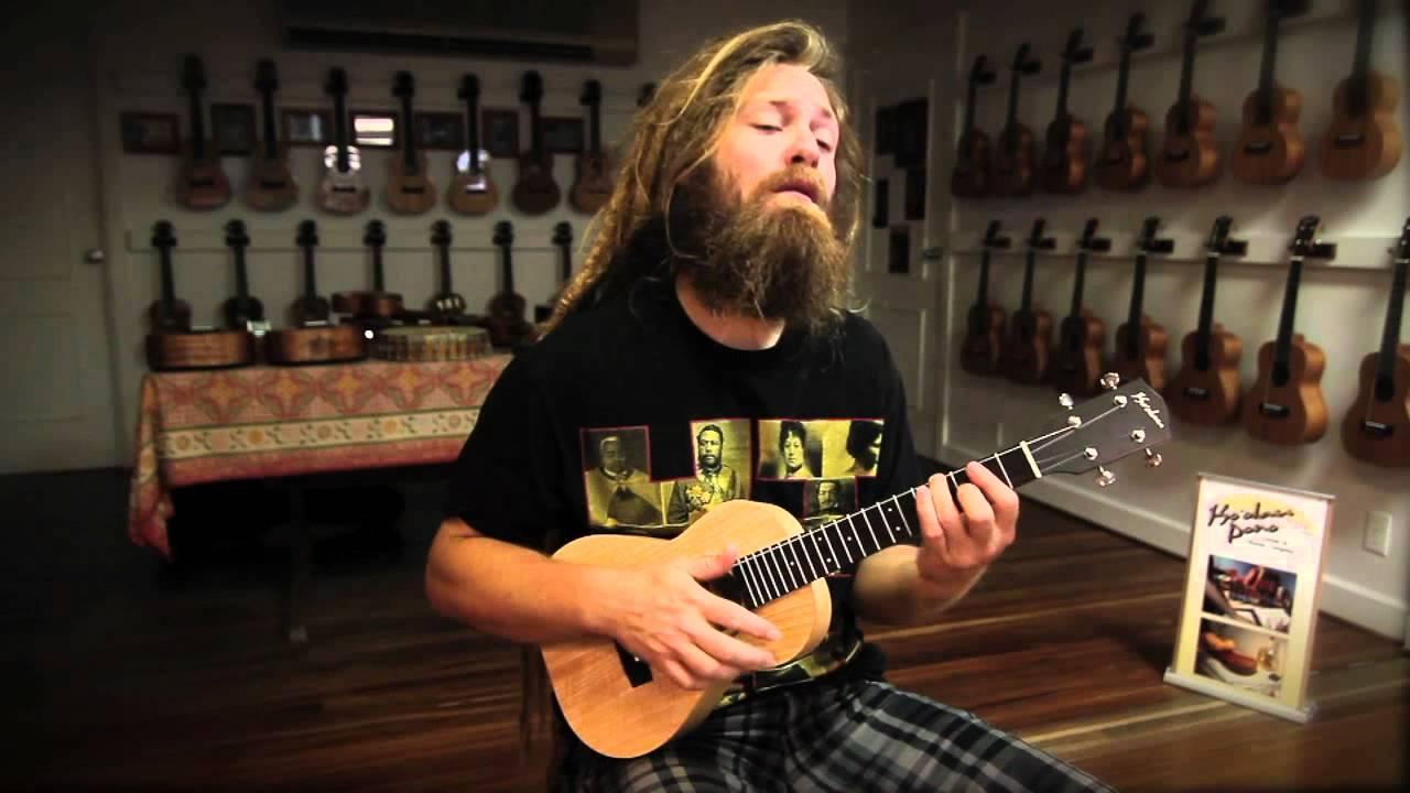 Mike Love No Regrets Original Music On Ukulele Youtube