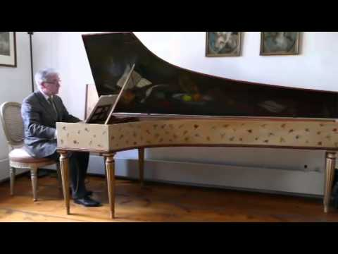 Old harpsichord at the piano collectio