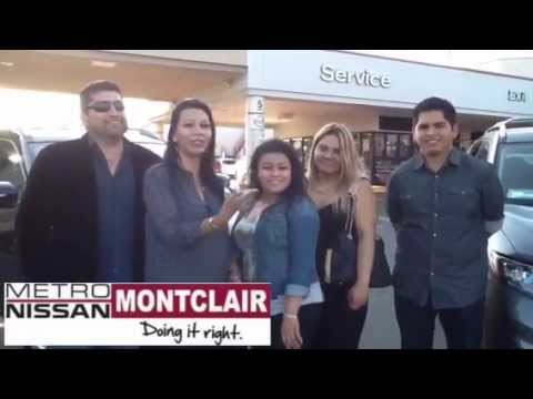 Metro Nissan Of Montclair Reviews: Testimonial By The Salas Family About A  2015 Nissan Rogue SV   YouTube