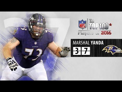 #37: Marshal Yanda (G, Ravens) | Top 100 NFL Players of 2016