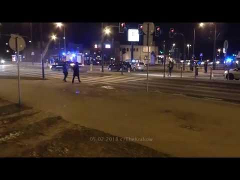 Wypadek Ruczaj Kraków 05.02.2018