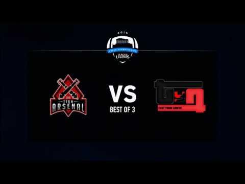 League of Legends Greek Championship Season 1 - Week 1 | Arsenal vs. Test Your Limits