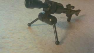 How to make a lego Barrett 50 cal.