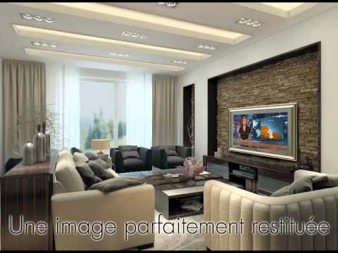 Hymage tv miroir encastrable doovi for Television miroir