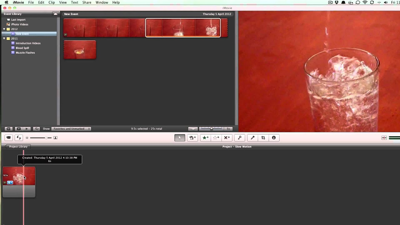 how to make stop motion in imovie
