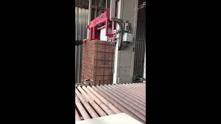 Tuğla paketleme sistemi-Tuğla Fabrikası