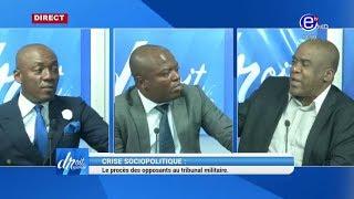 DROIT DE RÉPONSE DU 01/09/2019(Crise sociopolitique: Le procès des opposants au tribunal militaire)