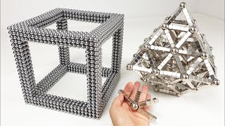 Magnet Satisfaction, Octahedron inside a CUBE | Magnetic Games