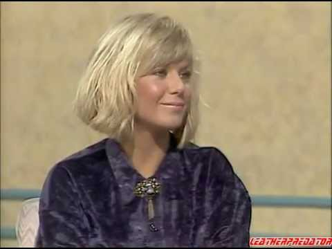 Glynis Barber in leather pants - Interview 13.10.1985