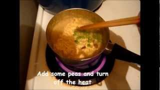 How To Make Maggi Noodles With Egg And Peas