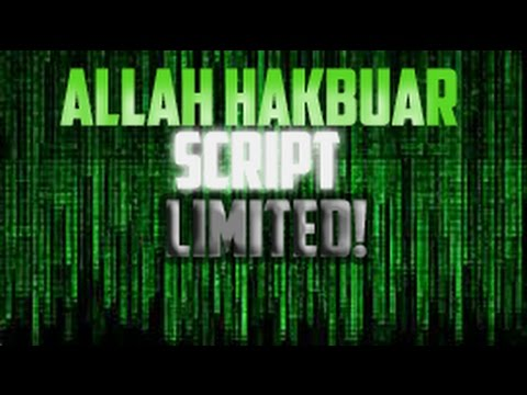 ALLAH HAKBUAR SCRIPT FOR EXPLOiTS! (LIMITED TIME)!