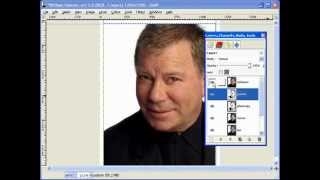 Creating Scroll Saw Portrait Pattern Using Gimp - L7 Bonus Pt1