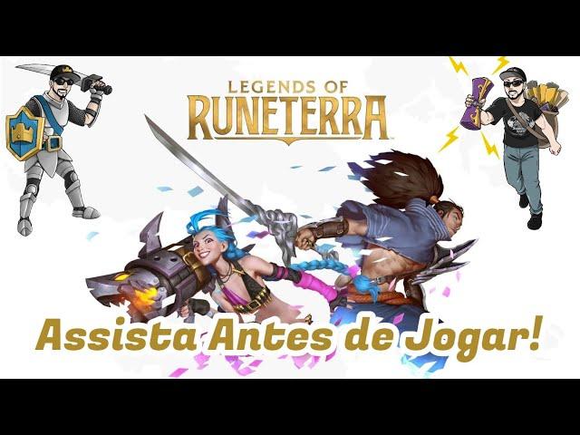 Legends of Runeterra : Assista esse vídeo antes de Jogar LOR !