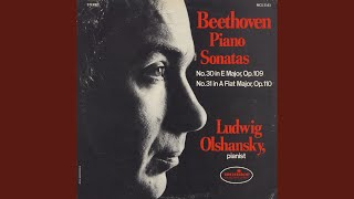 Beethoven: Vivace, ma non troppo/ adagio espressivo from Sonata No. 30 in E Major, Op. 109