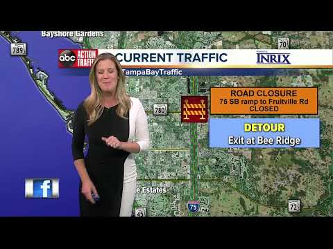 Cone Zones: Tampa Bay road construction projects that could affect your commute 11/03 to 11/10