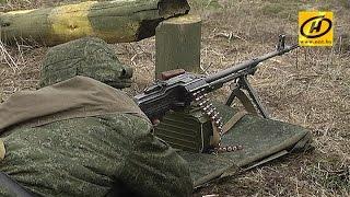 Курсанты Минского суворовского военного училища практиковались на полигоне под Борисовом