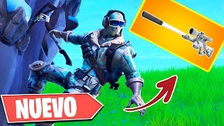 """NEW WEAPON"" FRENCH WITH SILENCEDOR 'FAKE OR REAL' FORTNITE"